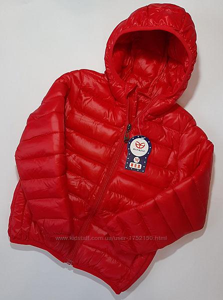 Детская демисезонная куртка на девочку M - XXXL