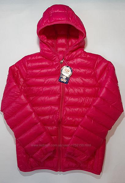 Детская демисезонная куртка на девочку 4XL - 6XL