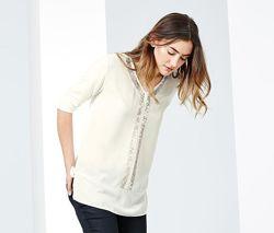 Нарядная блуза с пайетками tcm tchibo