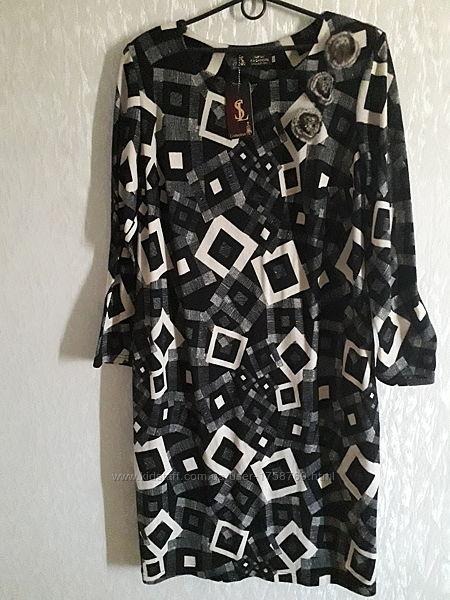 Классное теплое платье S&L collection