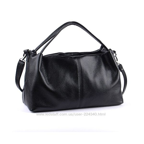 Женская сумка, мягкая натуральная кожа. Разные цвета.