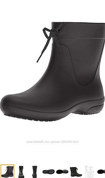 Сапоги Crocs Freesail Shorty Rain Boots W4 33-34