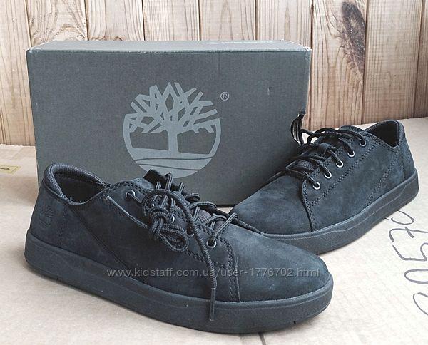 стильные кожаные кеды полуботинки мокасины Timberland кроссовки