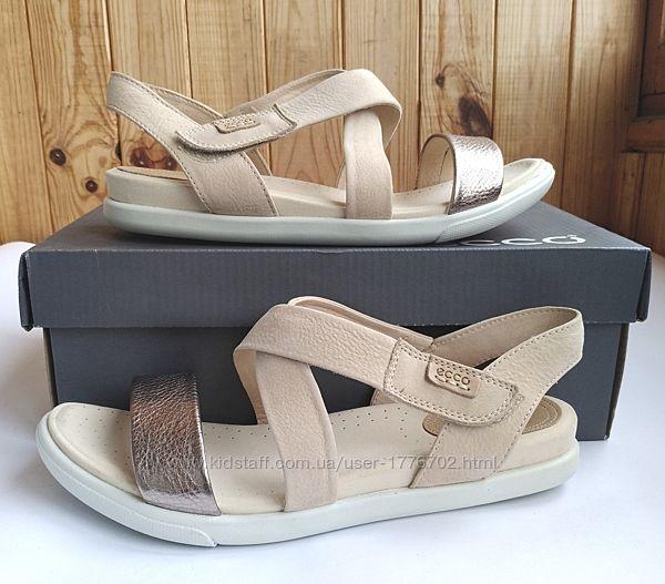 Стильные кожаные босоножки сандалии Ecco Damara Sandal оригинал