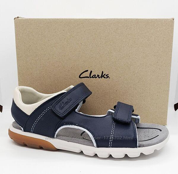 кожаные сандалии босоножки Clarks оригинал