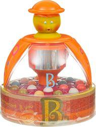 Юла-мандаринка, развивающая игрушка, прыгающие шарики - бренд Battat