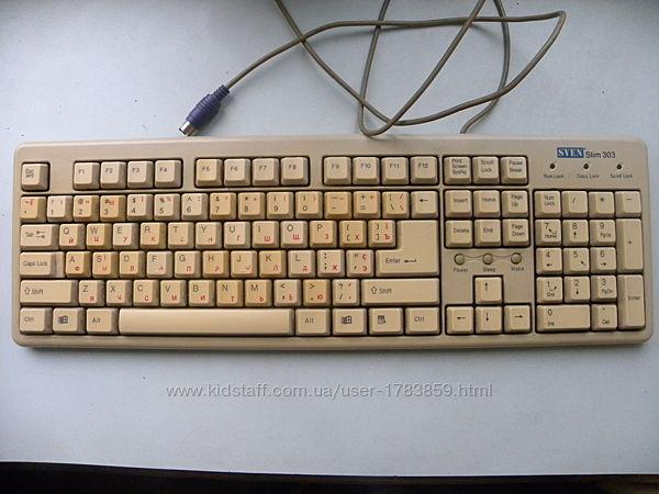 Клавиатура Sven Slim 303