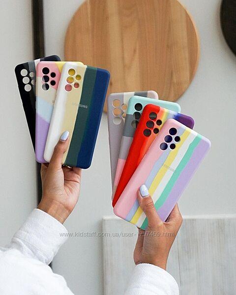 Радужный чехол Rainbow для iPhone, Samsung, Xiaomi