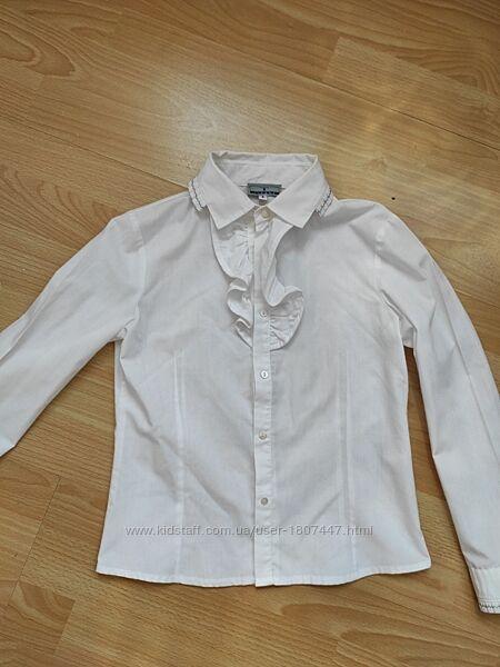 Белая блуза для девочки. Испания.