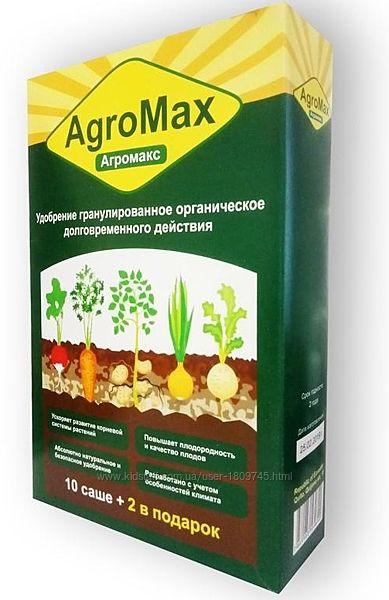 Купить оптом Agromax комплексное биоудобрение для роста растений Агромакс