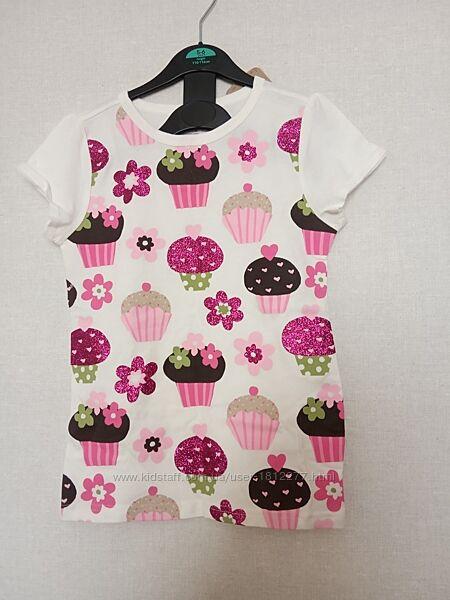 футболка детская на девочку