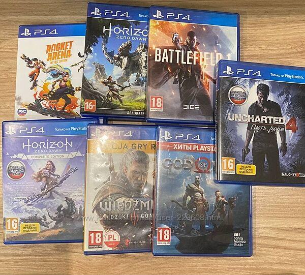 Игры диск на PlayStation PS4