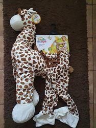 Идеальный подарок для ваших деток мягкая игрушка костюм жирафа