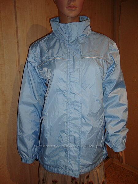 Летняя цена/Ветровка куртка голубая 46-48.