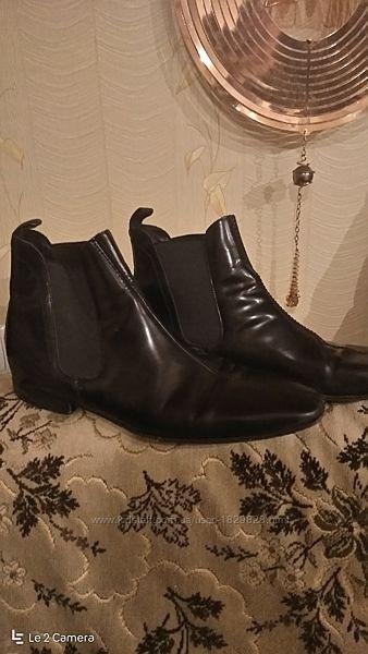 Ботинки Челси 43 кожа.