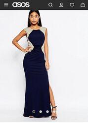 Выпускное вечернее платье в пол 165 рост XS-S