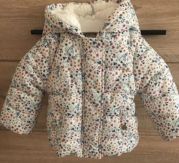 Куртка еврозима Baby Club 68 р-р для девочки