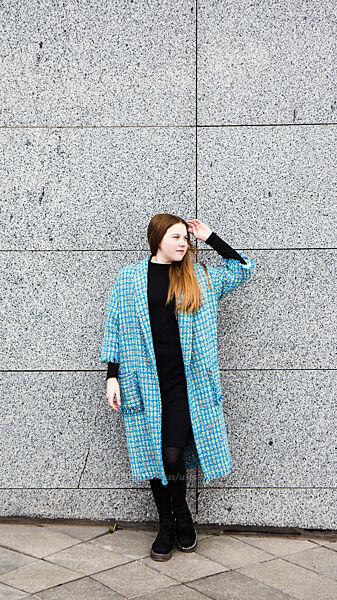 Продам твидовое пальто
