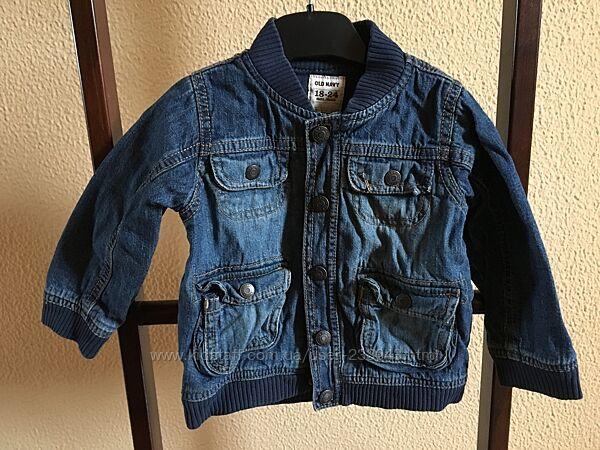 Джинсовая куртка, пиджак, Old Navy, 18-24