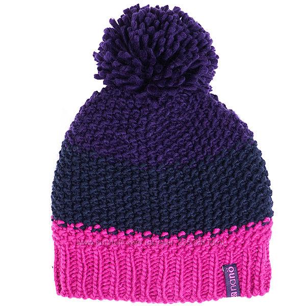 Канадская зимняя шапка NANO девочке на 7-12 лет