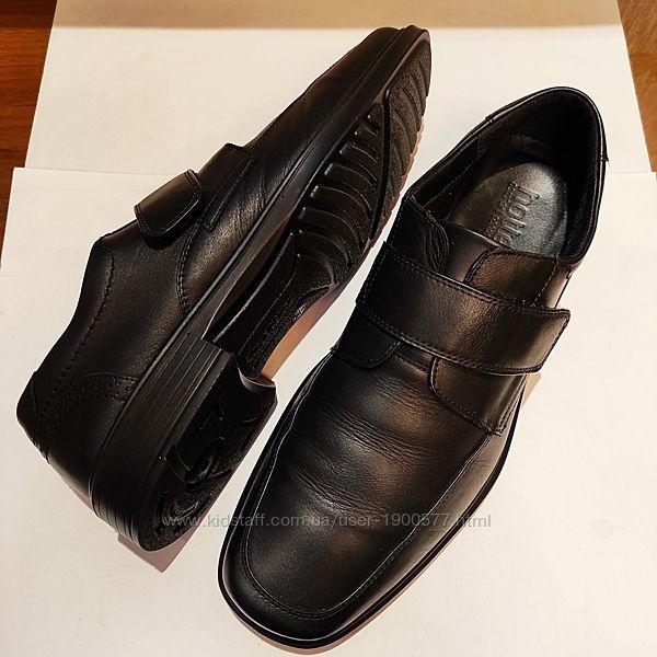 Кожаные черные туфли  Hotter