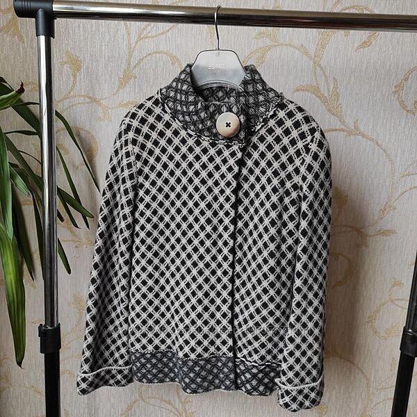 Шерстяная кофта накидка Marks & Spencer