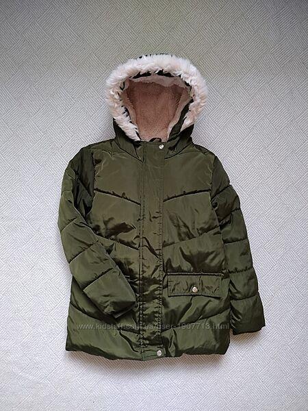 Sinsay зимняя удлиненная куртка р.116