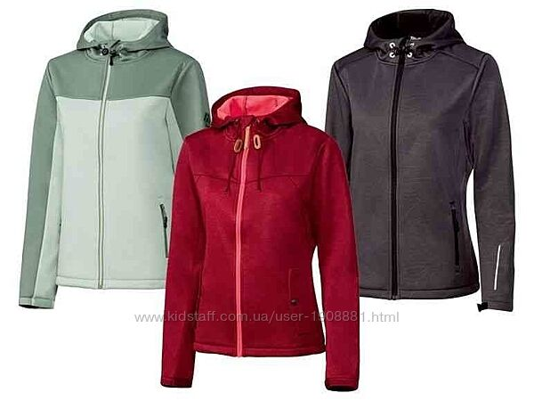 Куртка софтшелл Crivit размер s, m, l, xl