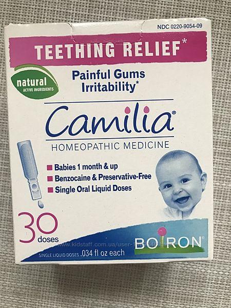 Boiron, Camilia, Камилия, облегчение боли при прорезывании зубов, 30