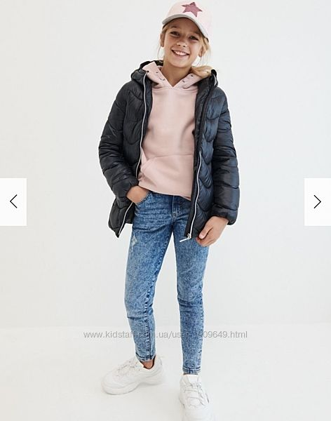 Reserved новая весенняя стёганая курточка девочке р. 110