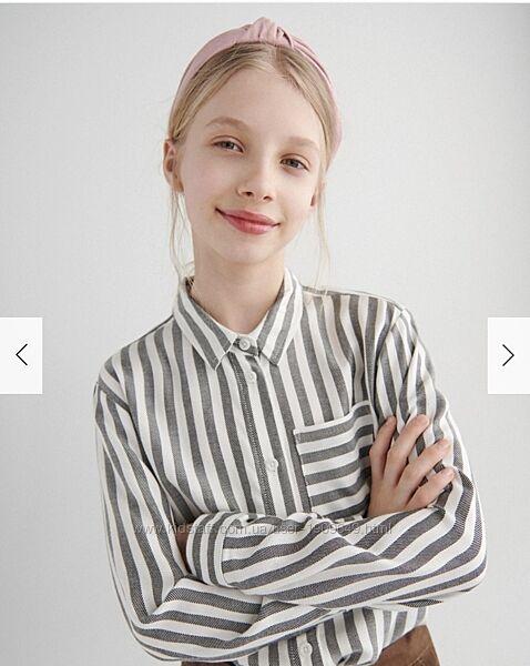Reserved новые рубашки девочке р. 116, 122