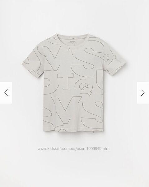 Reserved новая футболка мальчику р. 122, 128