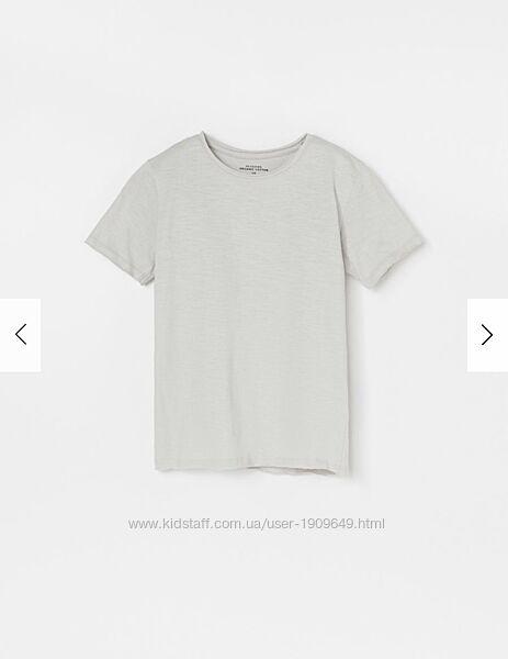Reserved новая базовая футболка мальчику р. 128