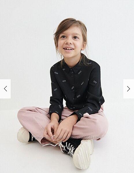 Reserved новая рубашка девочке р. 110
