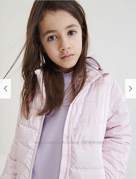 Reserved новая тёплая красивая курточка девочке р. 134, 146, 152, 158, 164