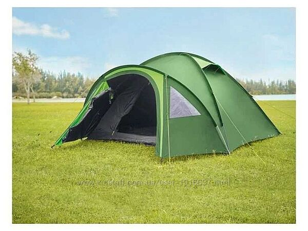 Палатка 3 - 4х местная с двойной крышей CRIVIT 3000мм Новая, Германия