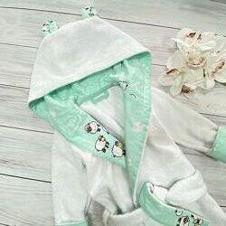Детский махровый халат Бараш