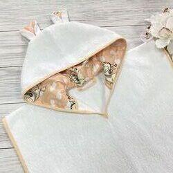 Детское полотенце-пончо Tini