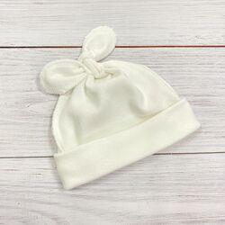 Шапочка-узелок для новорожденных