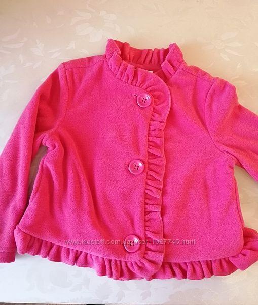 Флисовая куртка-пиджак Crazy8, XS на 4 года