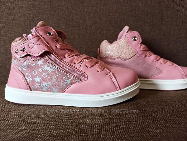 Демисезонные ботинки на девочку Bi&Ki 5014E. 27-32 размеры.