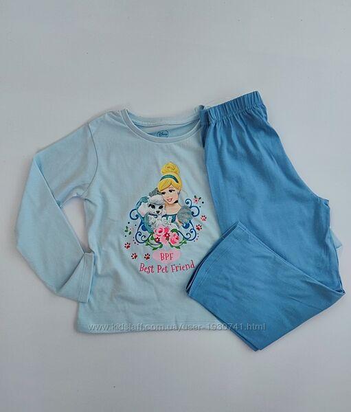 Пижама штаны, кофта Primark, серия Disney на 4 - 5 лет и 6 - 7 лет