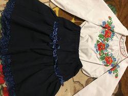 Вишиванка и юбка