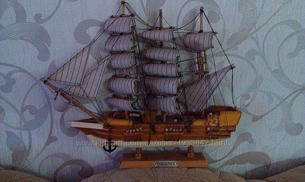 Модель парусного судна
