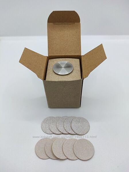 Стартовый набор для аппаратного педикюра из диска и сменных файлов Мир Леди