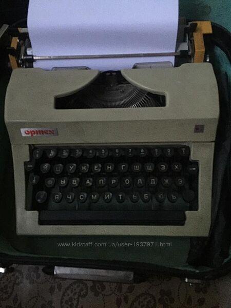 Печатная машинка Opmex