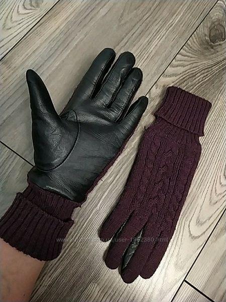 Tchibo мягчайшие кожаные перчатки