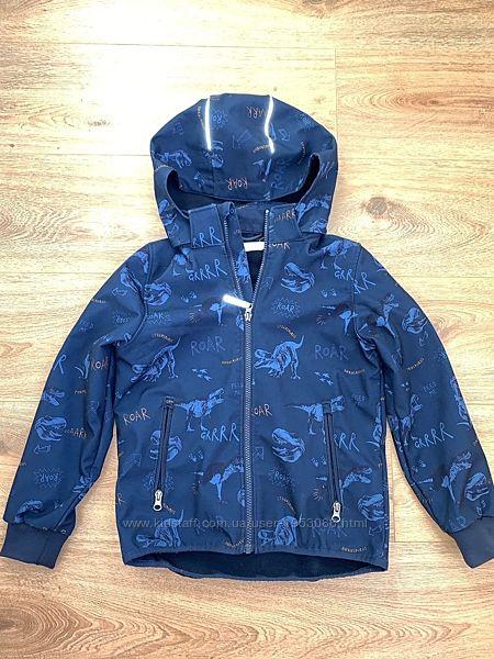 Демисезонная куртка HsM на мальчика 7-8 лет на флисе