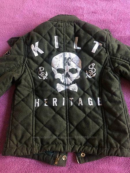 Куртка фирменная Kilt Heritage  на мальчика 3-5 лет