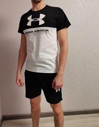 Мужской костюм прогулочный футболка и шорты